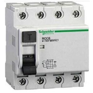 Aptomat chống giật RCCB 4P - Residual Current Circuit Breakerr 4 Phase