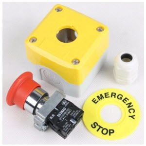 Hộp nút ấn dừng khẩn - Emergency Stop Switch Protective Guard