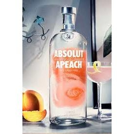 Ruou Absolut Apeach(dao) 0.75L