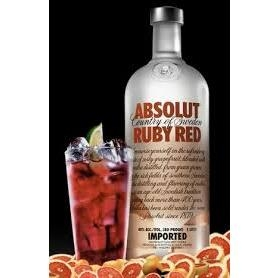 Rượu Vodka Absolut Ruby Red (Bưởi) 0.75L