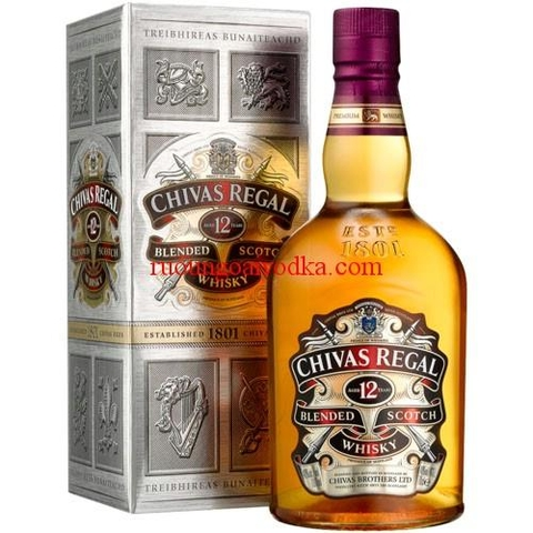 Rượu Chivas Regal 12 Year 0.75L