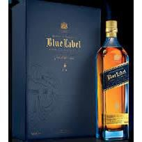 Johnnie Walker Blue Label 0.75L Hộp Da