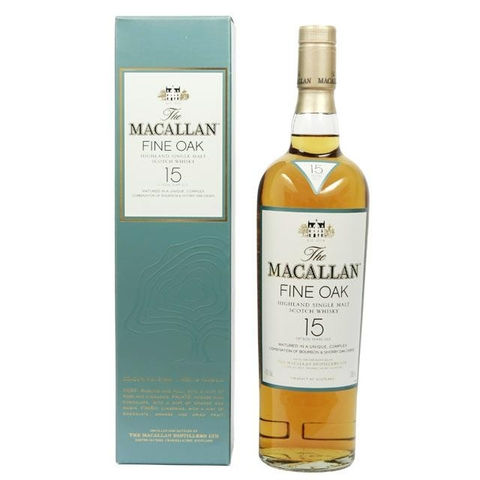 Rượu Macallan 15 Years Old 0.7L
