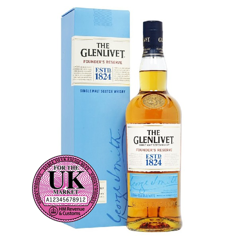 GLENLIVET FOUNDER'S RESERVE UK 1L