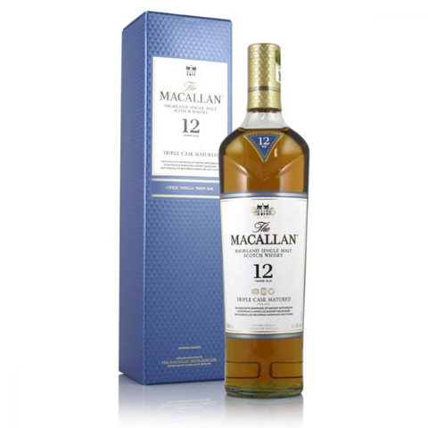 Rượu Macallan 12 Year Old 0.7L