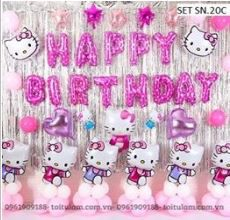 SET BÓNG KITTY M.20C