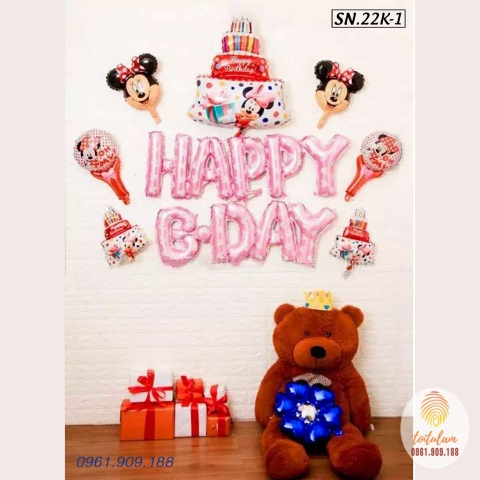 SET BÓNG MICKEY P.22K