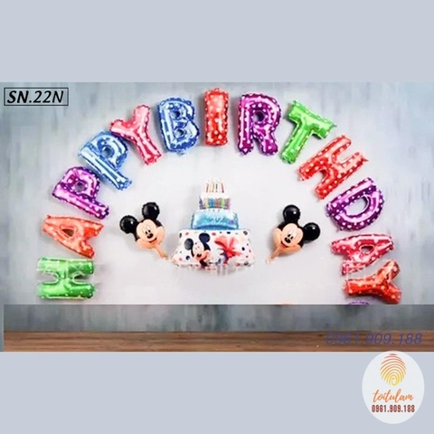 SET BÓNG MICKEY P.22N