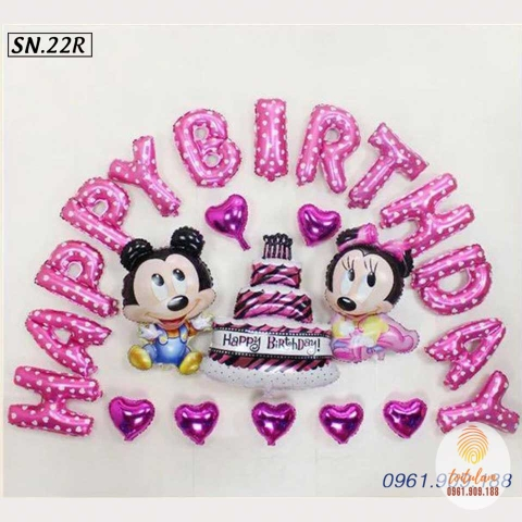SET BÓNG MICKEY P.22R