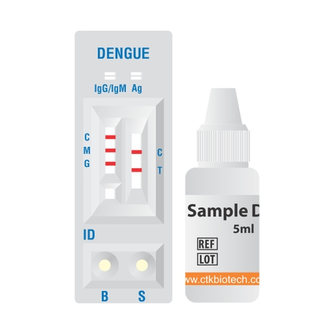 Test thử Onsite Dengue Ag Rapid Test (Cassette)
