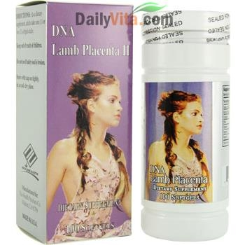 DNA Lamb Placenta 1000mg: DNA Nhau Thai Cừu – Lọ 100 Viên