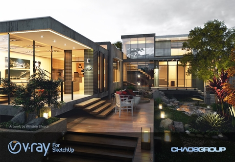 V-Ray 2.0 Full For SketchUp Pro 2015 For Mac OS X