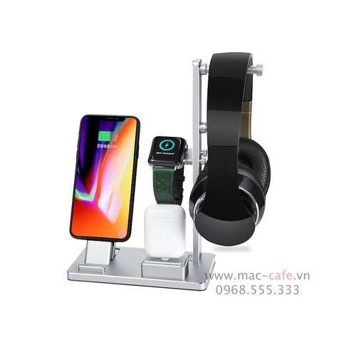Dock sạc 6in1 cho Apple Wach/ iPhone/ AirPods