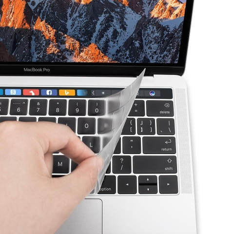 Phủ phím JCPAL FitSkin Macbook Pro Touch Bar