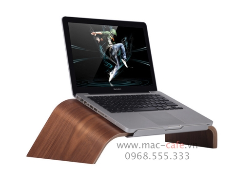 Đế gỗ Samdi cho Macbook Pro/ Macbook Air
