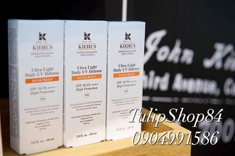 KEM CHỐNG NẮNG KIEHL'S ULTRA LIGHT DAILY UV DEFENSE