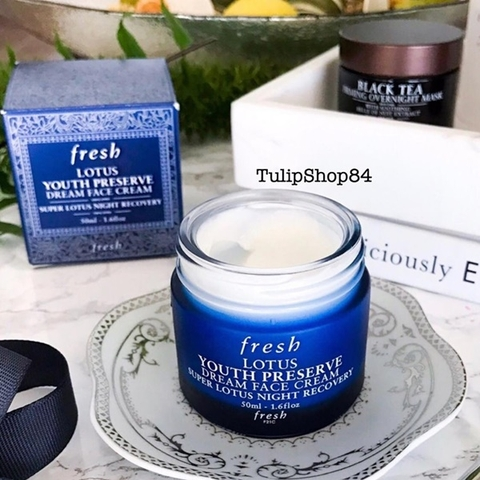 KEM DƯỠNG DA FRESH LOTUS NIGHT CREAM