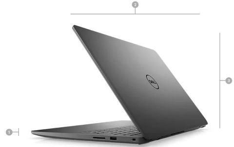 Laptop Dell Vostro 3500 (7G3982)/ Black/ Intel Core i7-1165G7 (up to 4.70 Ghz, 12MB)/ RAM 8GB DDR4/ 512GB SSD/ Nvidia Georce MX 330 2GB/ 15.6 inch FHD/ BT4/3 Cell 42 Whr/ Win 10SL/ 1 Yr