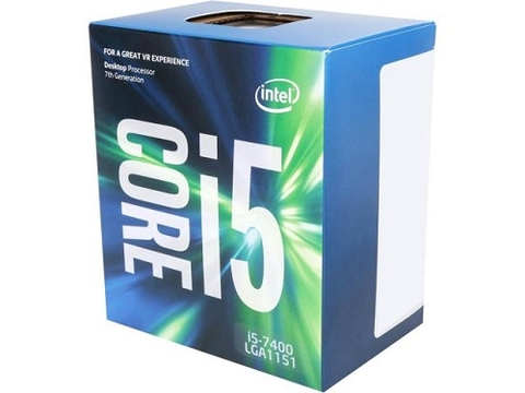 CPU Intel Core i5-7400 3.0 GHz / 6MB / HD 600 Series Graphics / Socket 1151 (Kabylake)