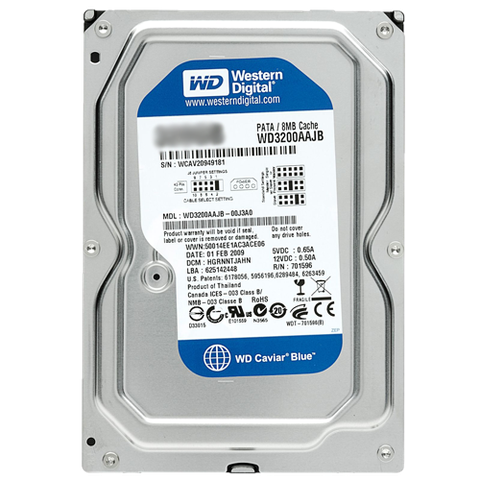 WD HDD Blue 2TB 3.5