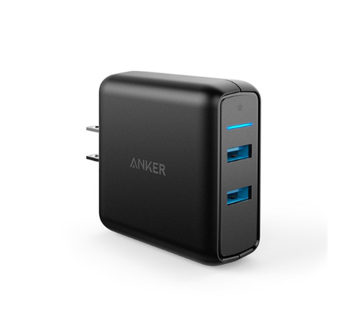 Sạc Anker 2 Cổng PowerPort Speed 2 Quick Charge 3.0 - A2025