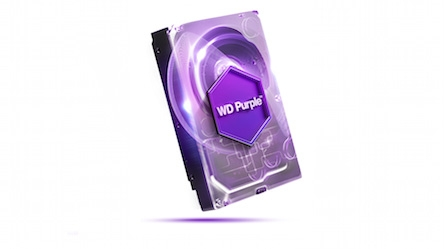 HDD Western Purple 10TB Sata 3