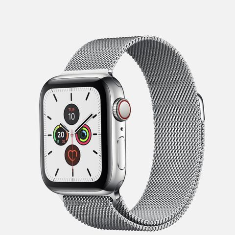 Apple Watch Series 5 White Stainless Steel Milanese Loop NewSeal