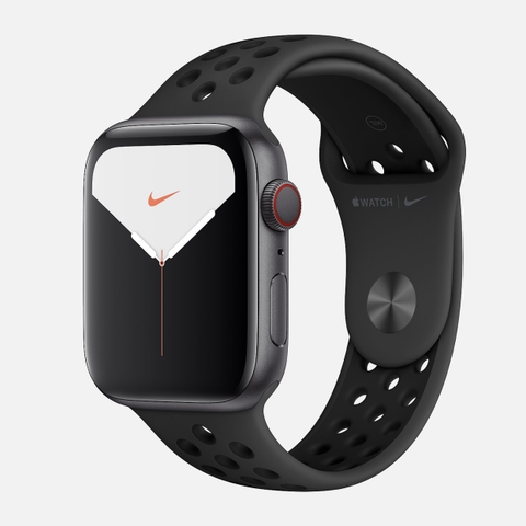Apple Watch Series 5 Space Gray Aluminum With Black NIKE Sport Band