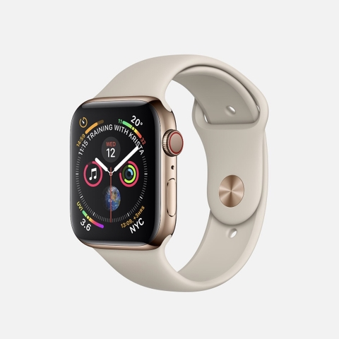 Apple Watch Series 4 Gold Stainless Steel, Sport Band New Seal Chính Hãng ( J/A, Kh/A,... )