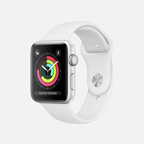 Apple Watch Series 3 White Aluminum GPS Sport Band Newseal