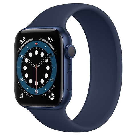 Apple Watch Series 6 Blue Aluminum Case GPS with Solo Loop New Seal