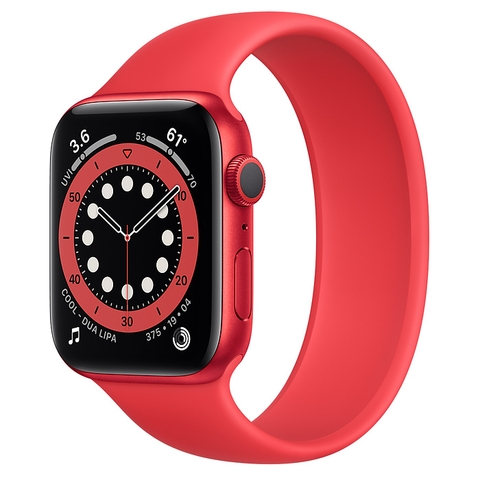 Apple Watch Series 6 (PRODUCT)RED Aluminum Case GPS with Solo Loop New Seal