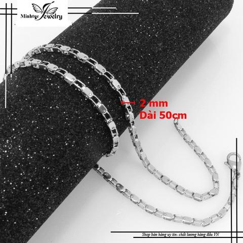 Mua dây chuyền trang sức nam giá rẻ nhất Hà Nội chỉ có tại Minh Tuệ Shop