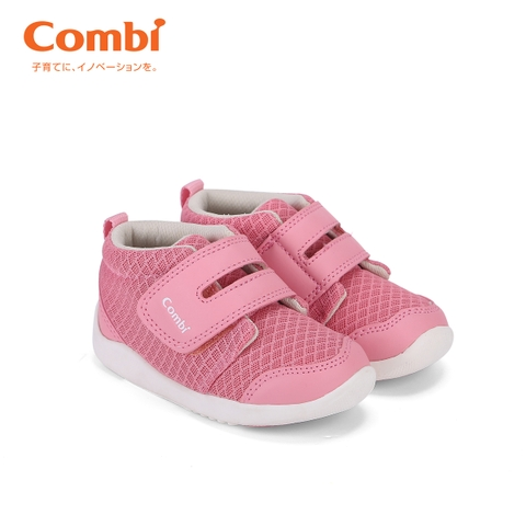 Giầy cao cổ Classic Combi màu hồng size 15.5