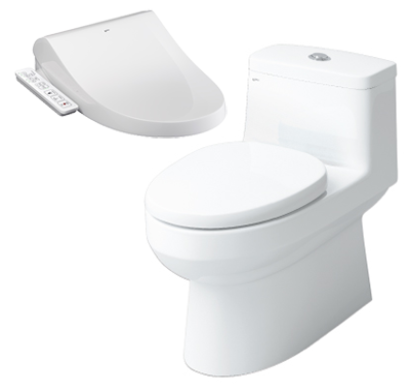 BỒN CẦU INAX NẮP SHOWER TOILET AC-939+CW-H17VN