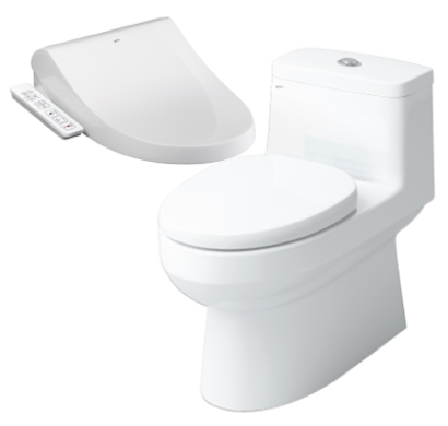 BỒN CẦU INAX NẮP SHOWER TOILET AC-939+CW-H18VN