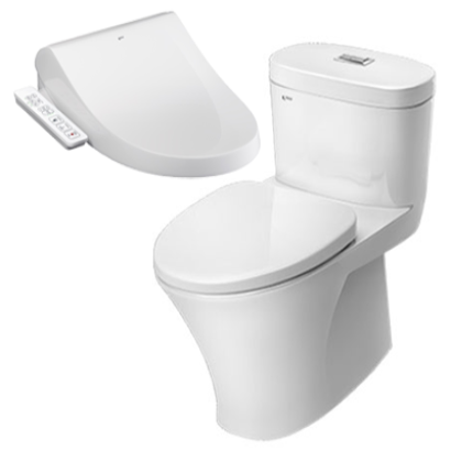 BỒN CẦU INAX NẮP SHOWER TOILET AC-959A+CW-H18VN