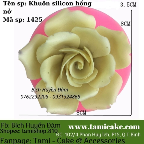 Khuôn silicon hồng nở 1425