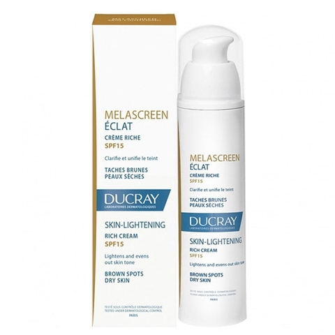 Kem dưỡng sáng da Melascreen Eclat Light Cream Skin Lightening SPF15 - Ducray C1MLC3