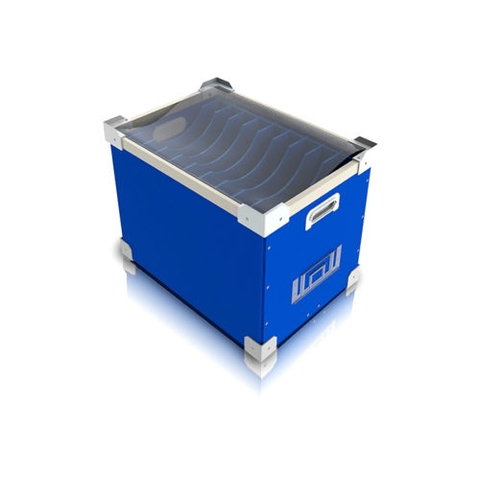 PVC Danpla box with bulkhead
