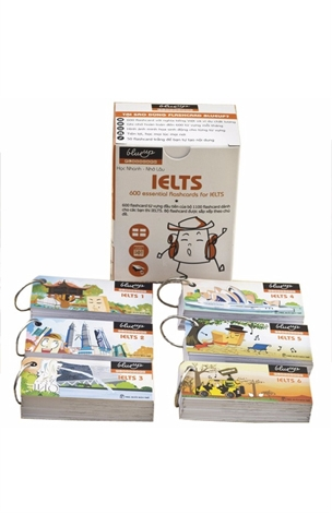 Thẻ Học Blueup IELTS 1 - 600 Essential Flashcards for IETLS