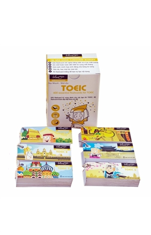 Thẻ Học Blueup TOEIC - 600 Essential Flashcards for TOEIC