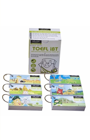 Thẻ Học Blueup TOEFL 2 - 600 Essential Flashcards for TOEFL