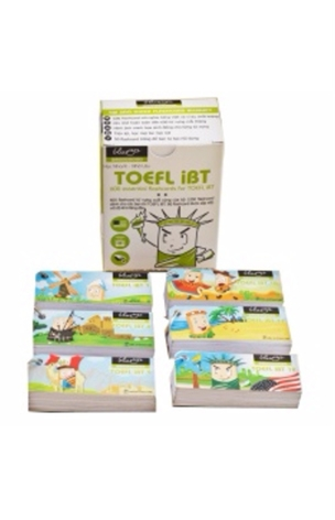Thẻ Học Blueup TOEFL 1 - 600 Essential Flashcards for TOEFL
