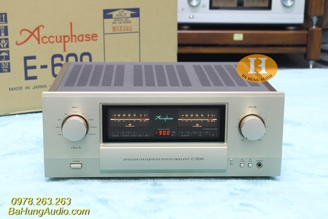 Amply Accuphase E600 Hàng Demo 99%