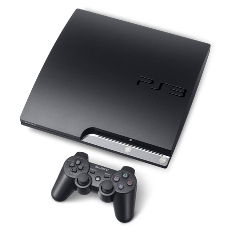 PS3 SLim 320GB Hack (kèm 2 tay)