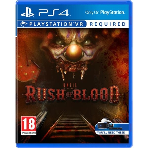 Until Dawn: Rush of Blood - PSVR PS4