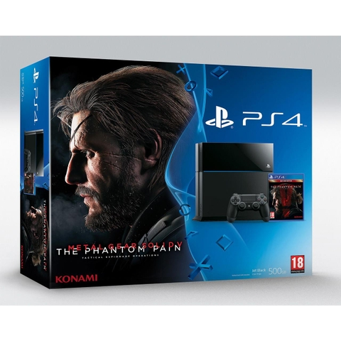 MÁY PS4 METAL GEAR THE PHANTOM PAIN LIMITED EDITION