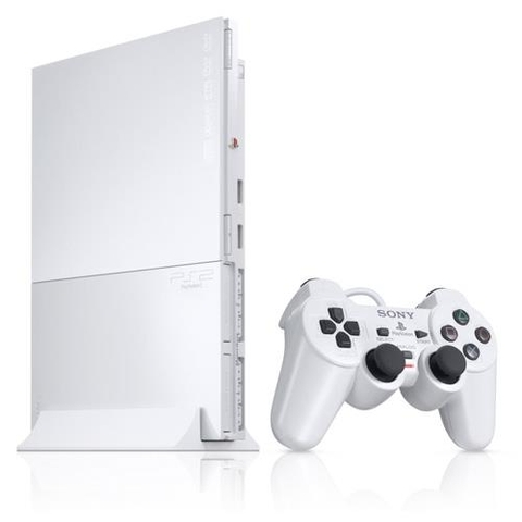 Máy PS2 Slim Ceramic White