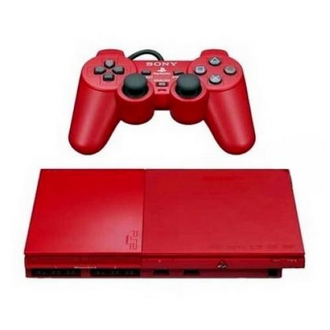 Máy PS2 CinnaBar Red